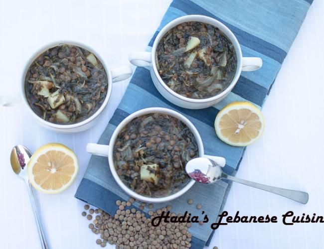 Sour Lentil Soup (Adas Bhamod).  One of my absolute favorite soups and the ultimate taste of winter and is sure to please on any cold evening. image 2