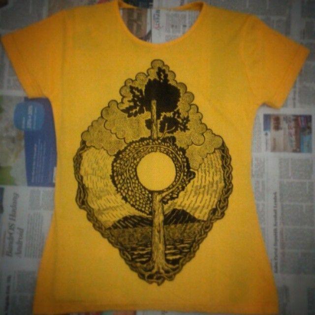 cool #Rain #Generation #yellow #tree #shirt #4sale from #djuwadiprints