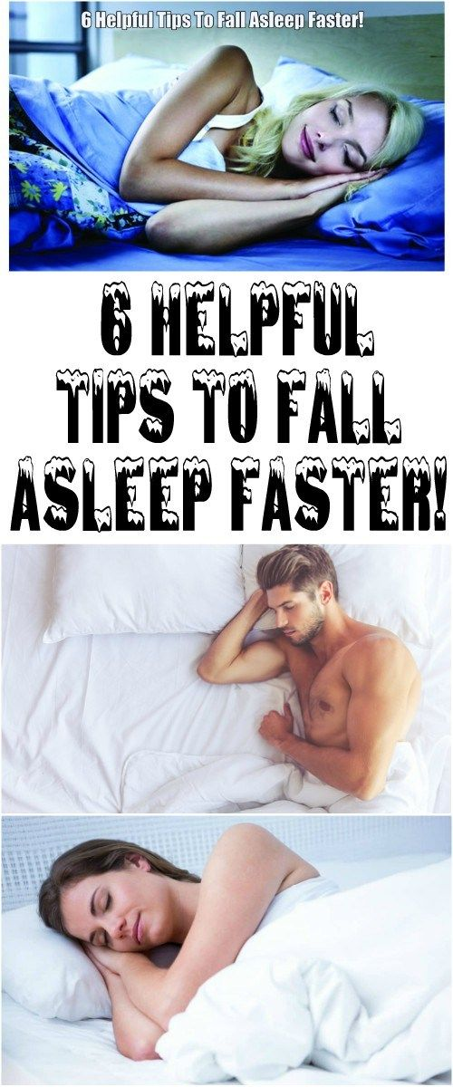 Here Are 6 Helpful Tips To Fall Asleep Faster!!!