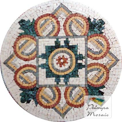 MD015 Marble Mosaic Medallion