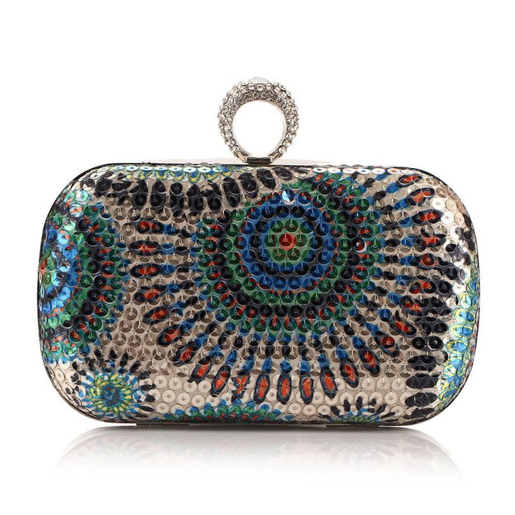 Colorful Sparking Evening Clutch //Price: $46.99 & FREE Shipping //     #shoulderbags