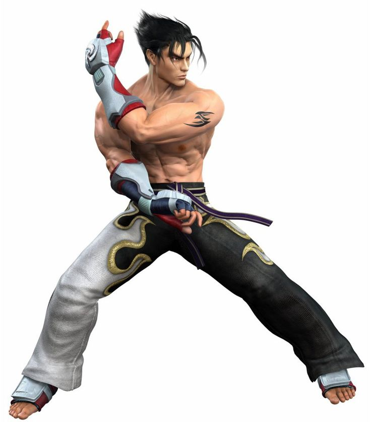Jin Kazama - Tekken....... Random but my all time favorite video game character