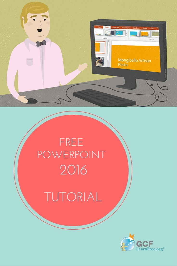 Our free PowerPoint 2016 tutorial is here! With 33 lessons and 32 videos to learn from, you'll be a #PowerPoint pro in no time!