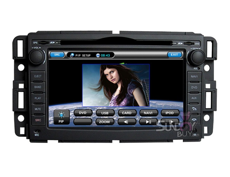$399  GMC Yukon Car GPS Touchscreen DVD System