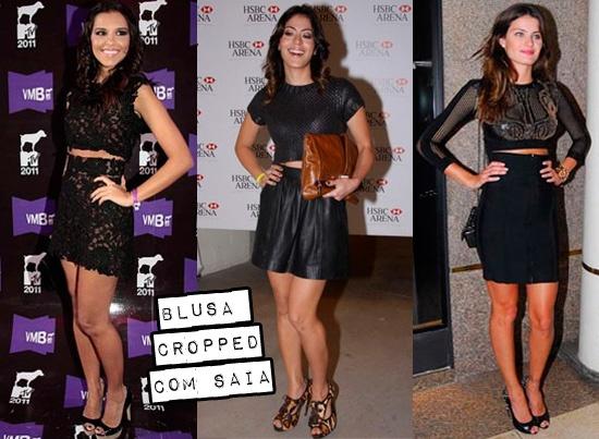 Como usar blusa cropped: http://www.flavios.com.br/blog/2012/10/blusa-cropped-como-usar/Using, Usar Blusas, Blusas Crop