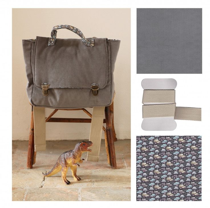 cartable gris Tuto