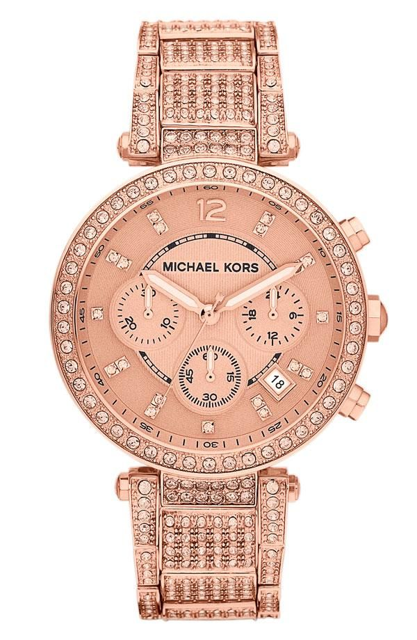 Rose Gold Watch by Michael Kors | Nordstrom