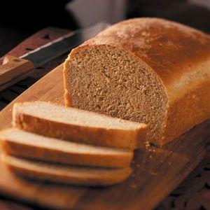 my new favorite bread machine recipe: Grandma's Oatmeal Bread.  perfect texture, soft crust.