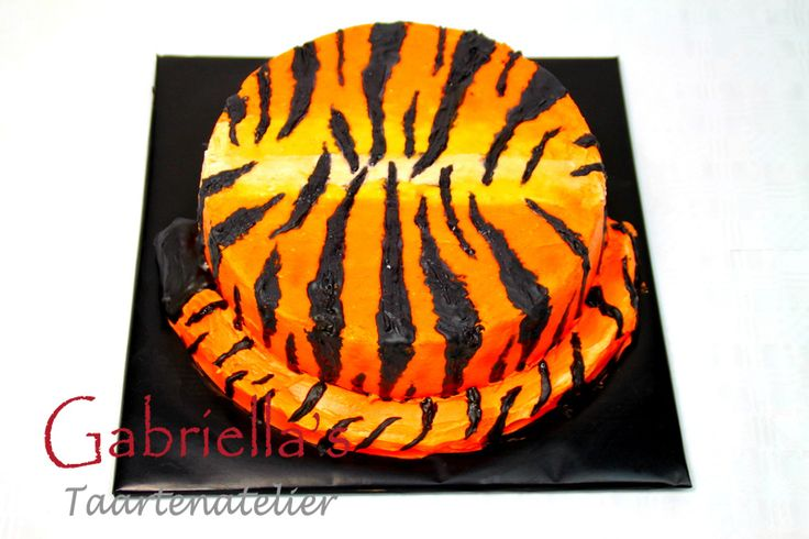 tijger taart