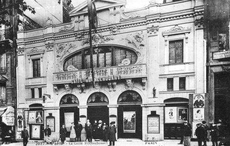 Salles de spectacle disparues à Paris 9e