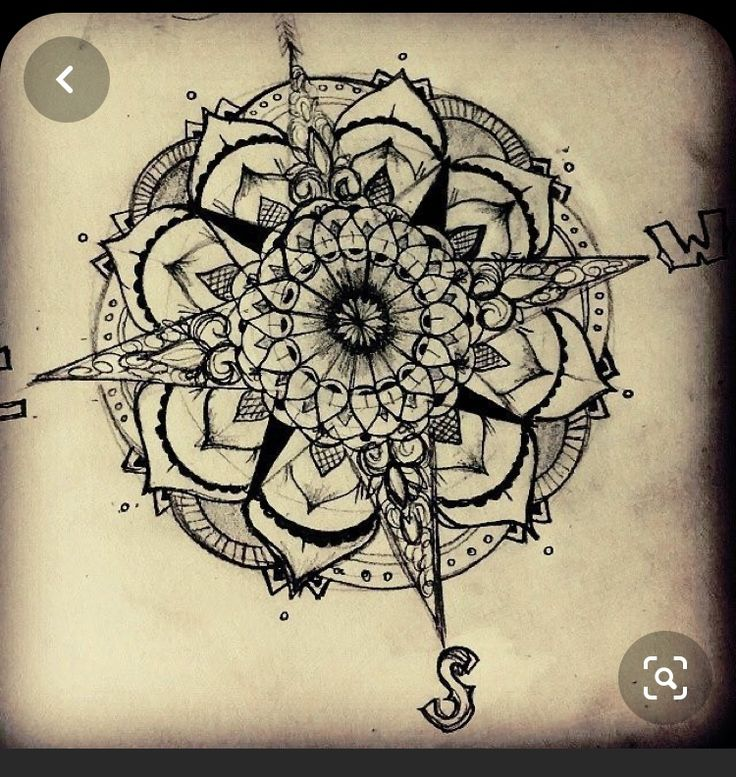 Pin by Alicia Frame LaHaie on Elbow tattoo in 2020   Vintage compass tattoo, Compass tattoo ...