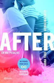 """""""After. En mil pedazos"""" de Anna Todd. Ficha elaborada por Alejandro Julián."""