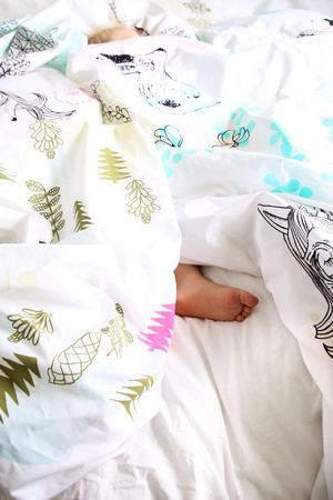 colourful kids bedding