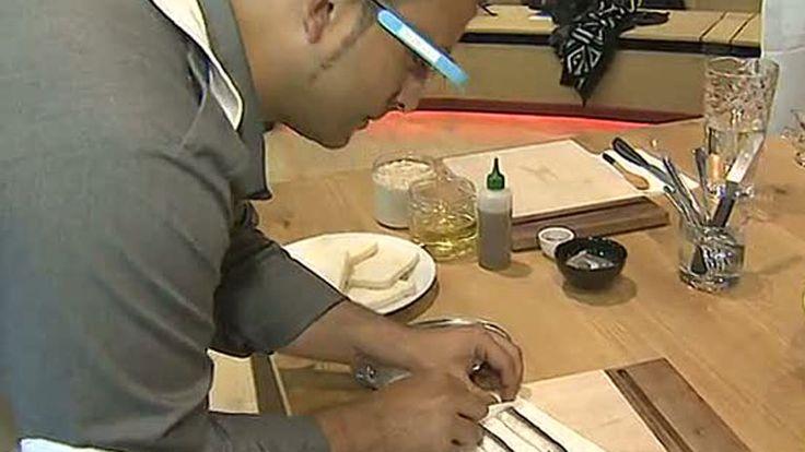 Aplicaciones de tabletas y gafas inteligentes ayudan a cocinar, Telediario  - TVE.