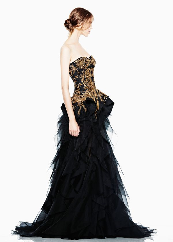Covet-able Clothes From Alexander McQueen 2012 O_O!