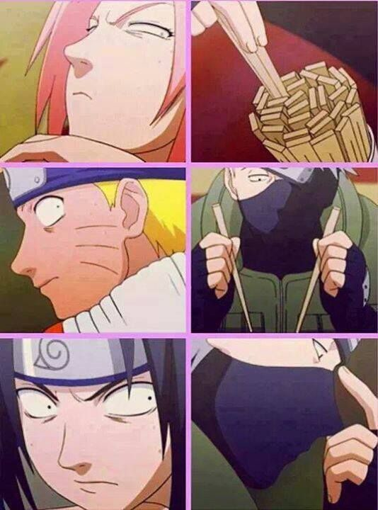 The most awesome goofy Naruto episode. I laugh every time. Other than when Naruto and Sasuke kiss.