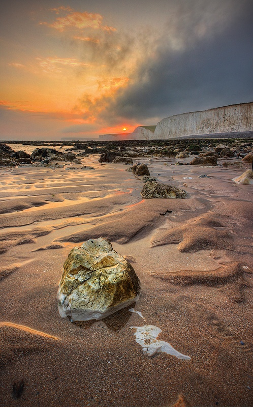 Birling Gap near Eastbourne: Breathtak Photo, Photo Mad