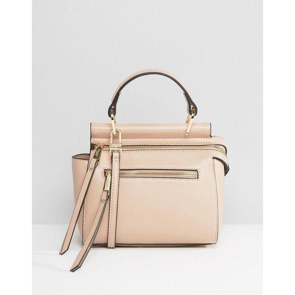 Dune Dinidamille Mini Shoulder Bag ($83) ❤ liked on Polyvore featuring bags, handbags, shoulder bags, pink, mini handbags, mini purse, mini shoulder bag, dune handbags and single strap shoulder bag