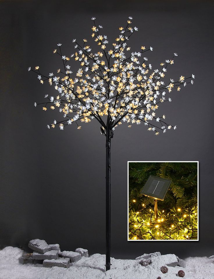Amazon Com Lightshare New 8ft 600l Led Pear Blossom