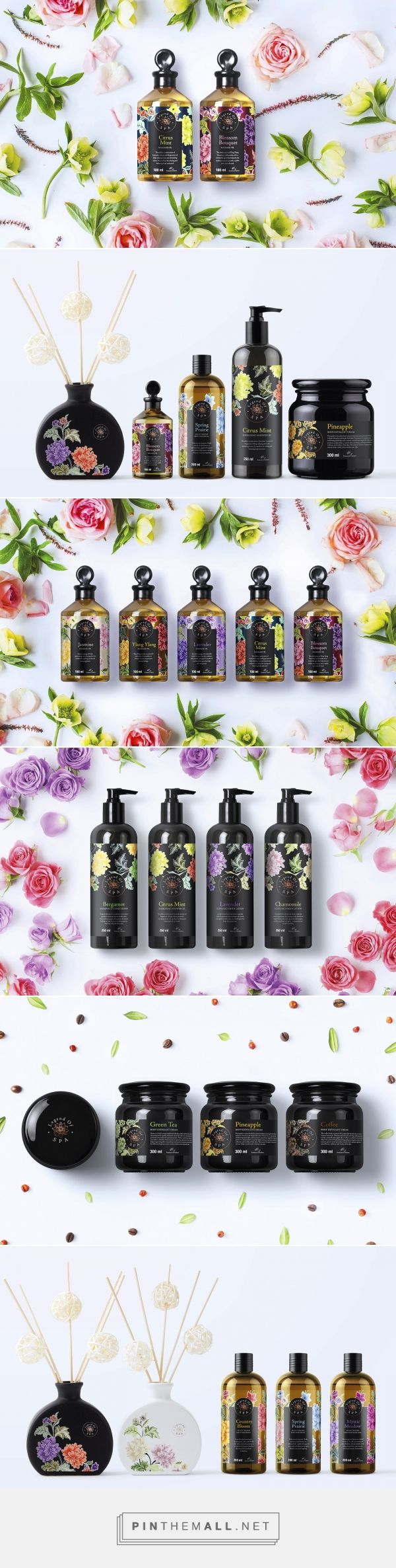 Legend of Spa - Packaging of the World - Creative Package Design Gallery - http://www.packagingoftheworld.com/2016/10/legend-of-spa.html