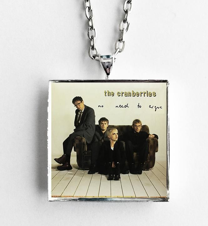 The Cranberries - No Need To Argue - Album Cover Art Pendant Necklace