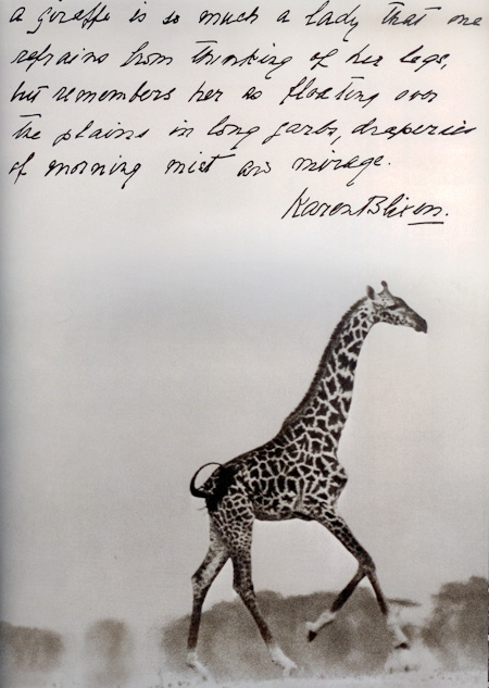 Africa love, Peter Beard photo, Words Karen Blixen. dd