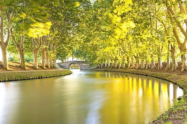 The 17th-century Canal du Midi in southern France is often portrayed as Europe's most beautiful waterway, and a unique symbol of harmony between Man and nature.