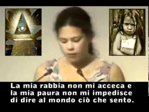 La bambina che zittì il Mondo per 6 minuti (Nazioni Unite 1992)