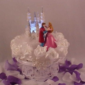 Beauty And The Prince Cake Topper