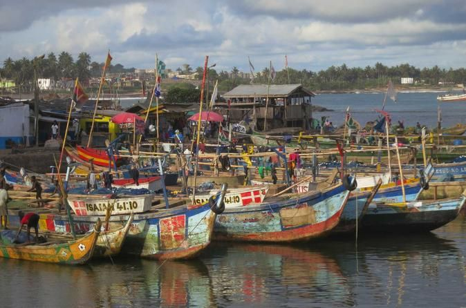 7-Day Ghana Holiday Coastal Tour Seven days of exploring the coast of Ghana is a good amount of time to get a feel for some of the great places to visit, and definitely enough time to soak up some quality rays on the sandy shores. This trip will take you to Elmina and the Cape Coast area for some of the popular travel destinations there like the castles and the shrines, and then onto the beautiful empty beaches of the Western region. When not enjoying the beautiful beaches and...