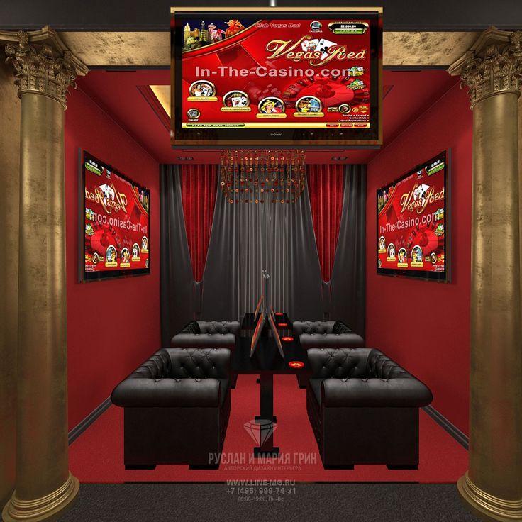 Клуб спортивных и лотерейных ставок. Фото интерьера