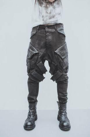 I would like this for Hooks pants. I like the color and edgy design to it, but I think I would make some modifications, like remove the straps