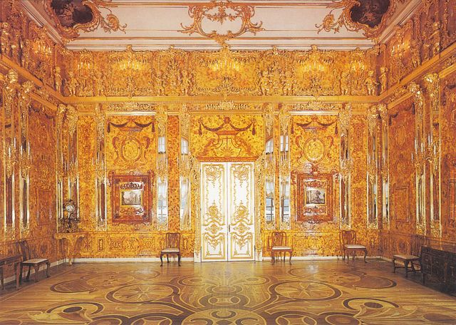 116 best Amber Room ~ Palace of Catherine the Great images on ...