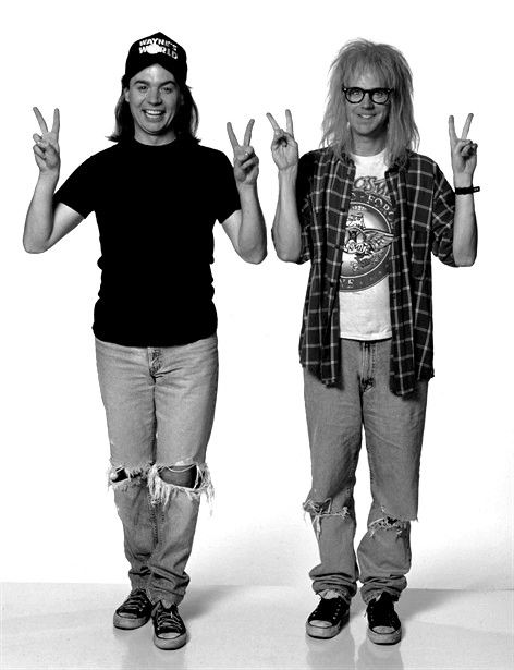 Party on Wayne Party on Garth