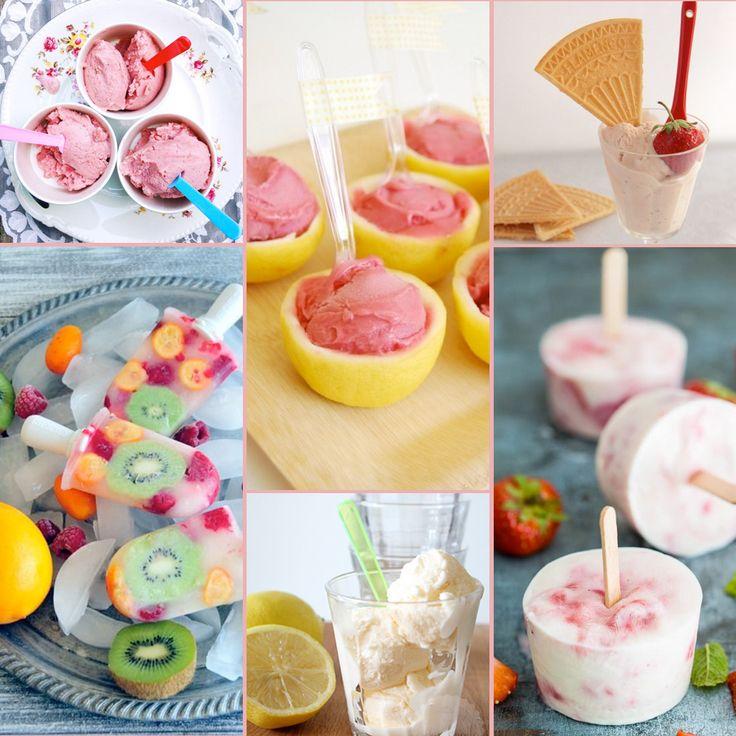 Maak zelf de lekkerste ijsjes van vers zomerfruit