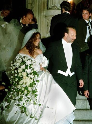 TBT: Mariah Carey's Lavish Weddings in Photos - brides
