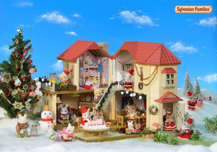 Quelle jolie maison bien décorée !   Cadeau enfant