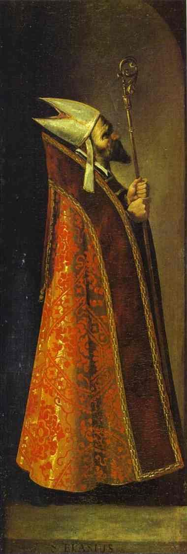 Francisco de Zurbarán - St. Basil Balenciaga source