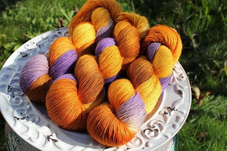 Fantasy melange - Włóczka farbowana ręcznie - YarnAndArt - Włóczki ręcznie barwione