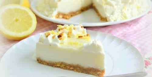 Recette de la tarte au citron faite maison