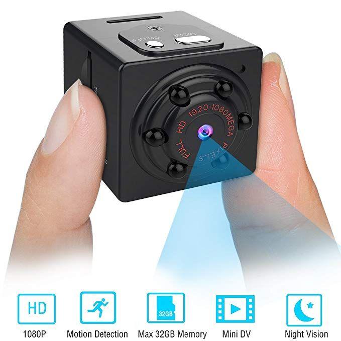 Mini Spy Camera Hidden Security