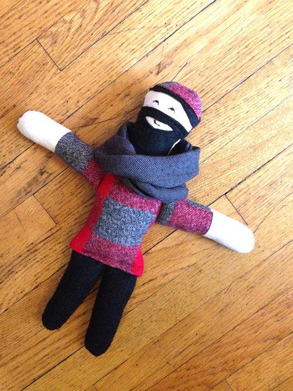 Minne Love Small Paul Bunyan Doll by mplsmomma on Etsy