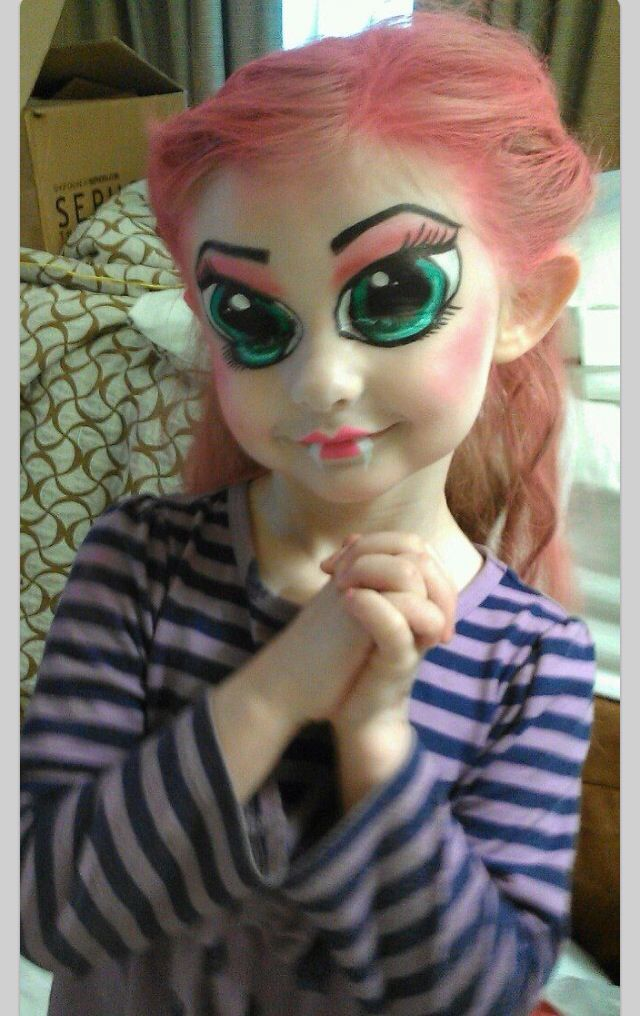 Bratz doll  Face painting ideas  Halloween Halloween