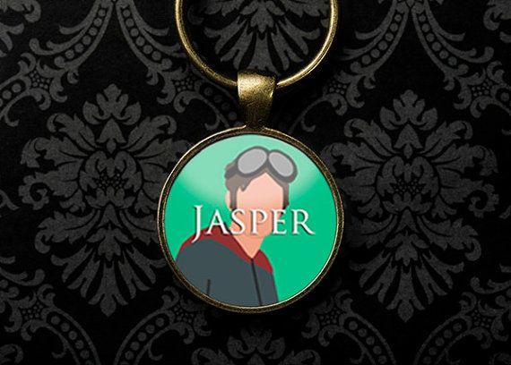 The100 Keychain Jasper Devon Bostick The 100 by WickedLovelyShop