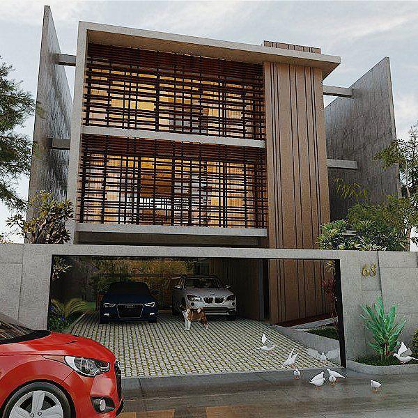 L68 House  #architect #architecture #architectureporn #archilovers #house #exterior #concrete #3dvisualization #3drender #vray #vrayforsketchup