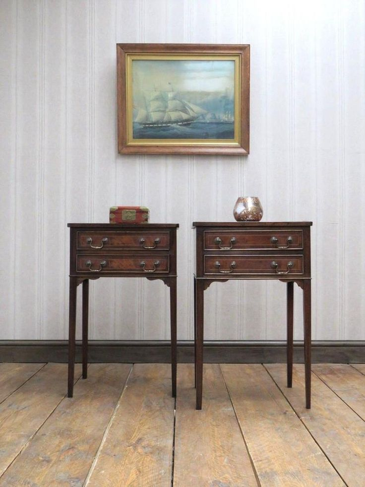 Quality Pair of Reproduction Antique Bedside Tables #Unbranded #AntiqueStyle