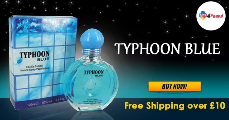 Easter Amazing Sale at #4pound store.Buy Typhoon Blue Perfume. Get 50% Discount Here !!!