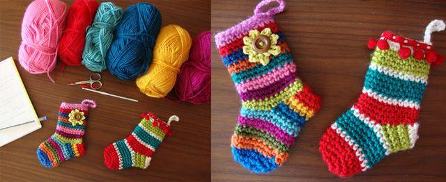 #DIY #Christmas: Decorazioni Natalizie a Crochet: 6 FOTO Tutorial da NON Perdere!