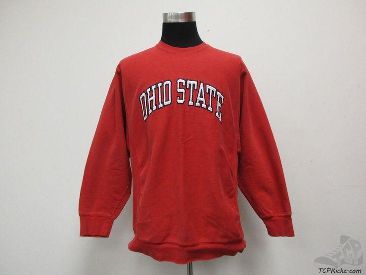 Ohio State Buckeyes Crewneck Sweatshirt sz XL Extra Large SEWN OSU University #SteveBarrys #OhioStateBuckeyes