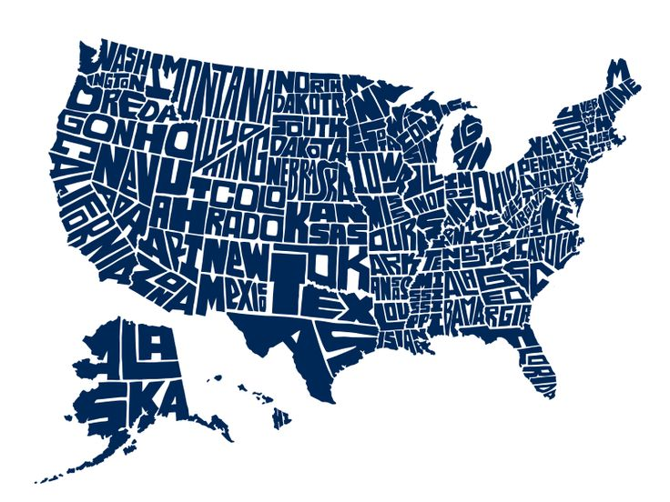 United States Map Graphic - Usa map graphic